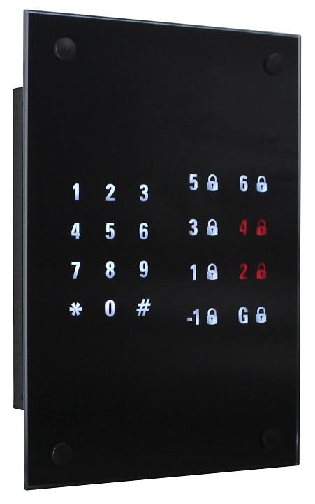 سیستم کنترل تردد (قفل طبقات) آسانسور طراحی شده برای آسانسور های پک وارداتی مانند کانه (سبا آسانبر)، متسوبیشی، شیندلر، اوتیس، هیوندایی، آرکل و ... - طراح و تولید کننده شرکت نوین کیا تک