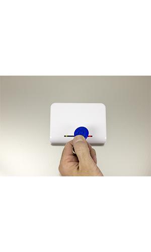 سیستم کنترل دسترسی (محدود سازی) روکار 1 الی 8 خروجی آسانسور مبتنی بر تگ RFID (جاسوئیچی و کارت) - سری RF